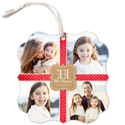 Wrapped With Joy Christmas Card