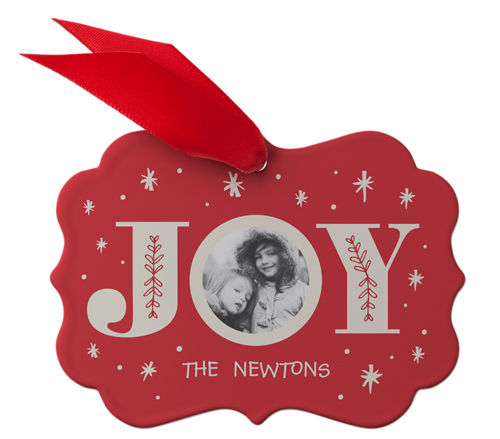 Joy Metal Ornament