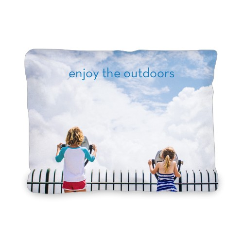Photo Gallery Outdoor Pillow, Pillow (Ivory), 12 x 16, Single-sided, Multicolor