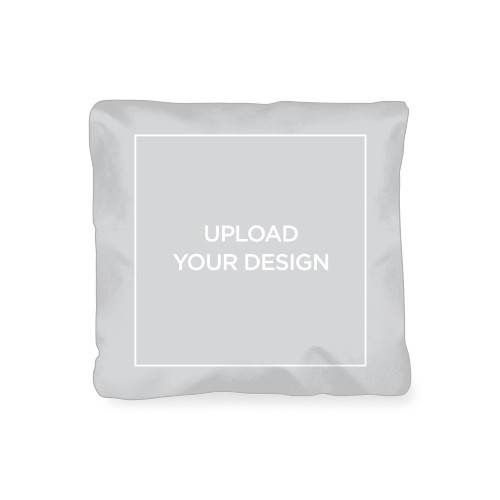 Upload Your Own Design Outdoor Pillow, Pillow, 16 x 16, Double-sided, Multicolor
