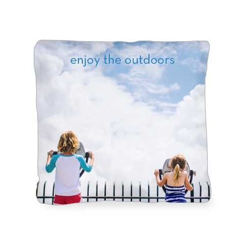 Photo Gallery Outdoor Pillow, Pillow, 18 x 18, Double-sided, Multicolor