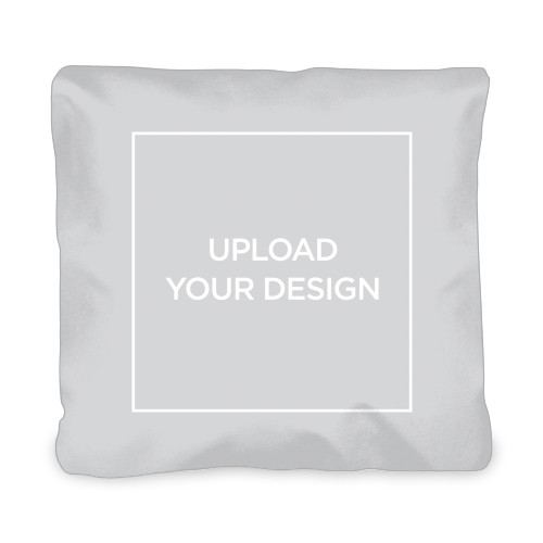 Upload Your Own Design Outdoor Pillow, Pillow (Black), 20 x 20, Single-sided, Multicolor