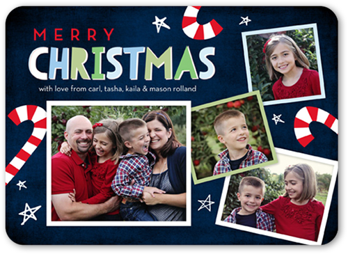 Sweet Christmas Christmas Card, Rounded Corners