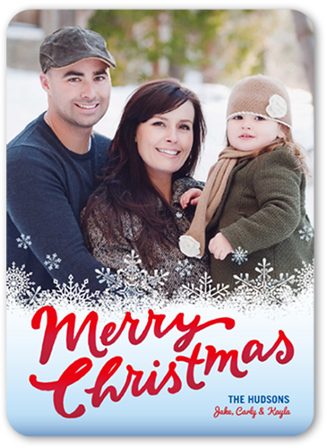 Merry Frost Christmas Card