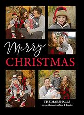 lattice snapshot holiday card