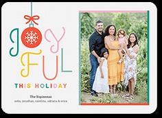 humble ornament holiday card