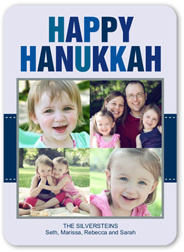 Hanukkah Happiness Hanukkah Card
