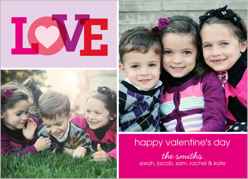 We Love You Valentine's Card
