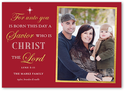Shutterfly Christmas Cards.Stately Scripture Religious Christmas Cards Shutterfly