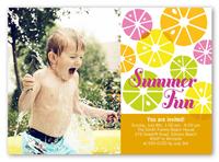 citrus sweet summer invitation 5x7 photo