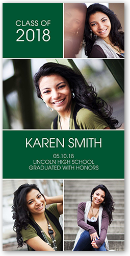 Contempo Grad Graduation Announcement