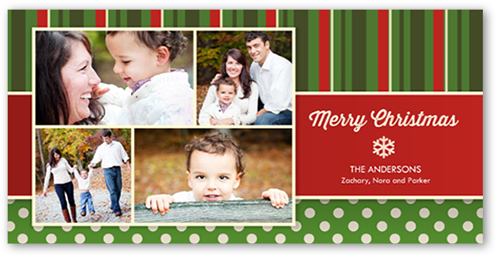 Pure Perfection Christmas Card