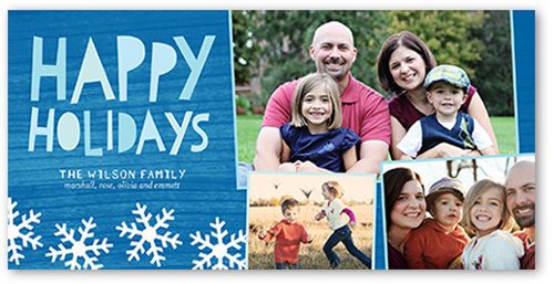 Holiday Flurry Holiday Card