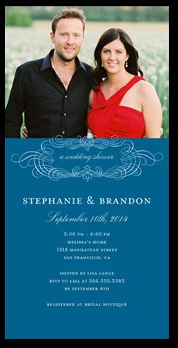 Almost Married Bridal Shower Invitation   Bridal Invitations, Square Corners