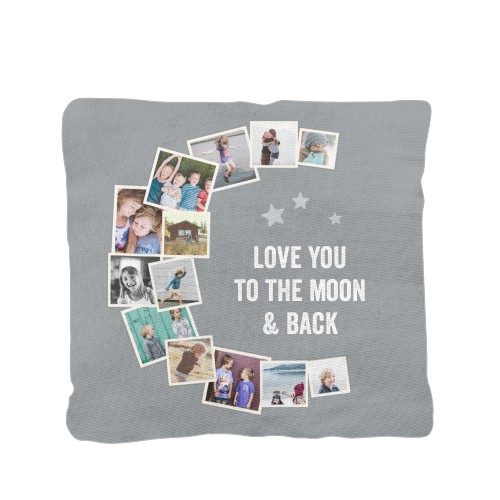 To The Moon Collage Pillow Custom Pillows Home Decor Shutterfly
