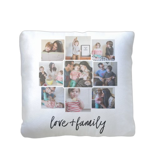 Love Pillow Case From Modern Family : Love and Family Pillow Custom Pillows Home Decor Shutterfly