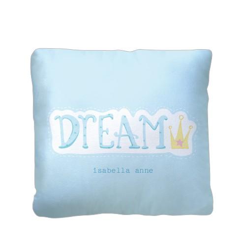 Princess Dream Pillow, Plush, Pillow (Plush), 16 x 16, Single-sided, Blue