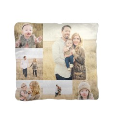 collage gallery pillow