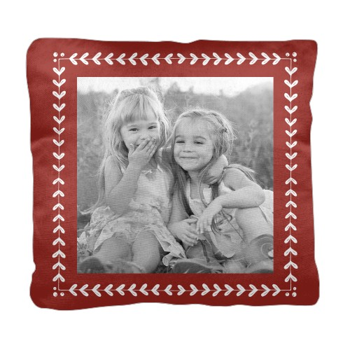 Mistletoe Frame Pillow