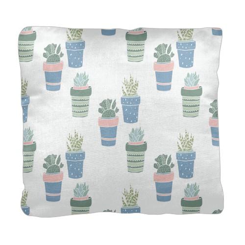 Multi Succulent Pillow