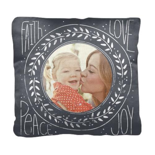 Love In Chalk Pillow