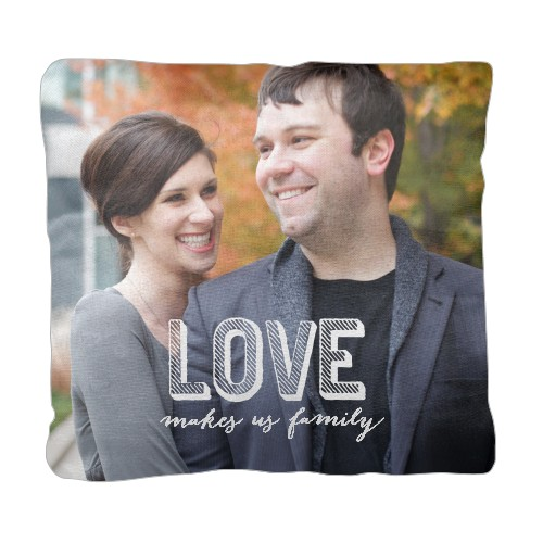 Love Makes Family Pillow