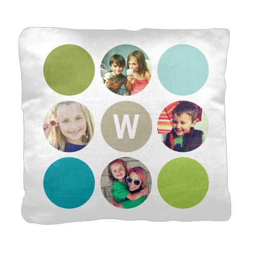 Color Dot Pillow