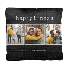 happiness is pillow