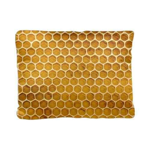 Photoreal Honeycomb Pillow
