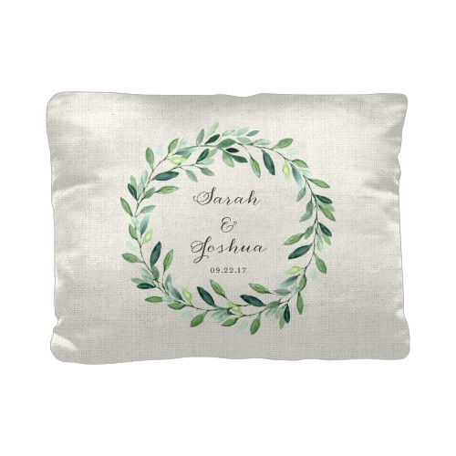 Foliage Circle Pillow