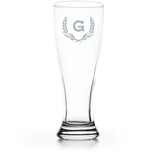 Wheat Pilsner Glass, Glass, Pilsner Glass Single Side, Clear Glass, White