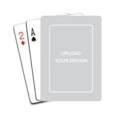 upload your own design playing cards
