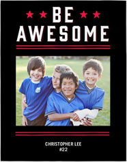 active awesome premium poster