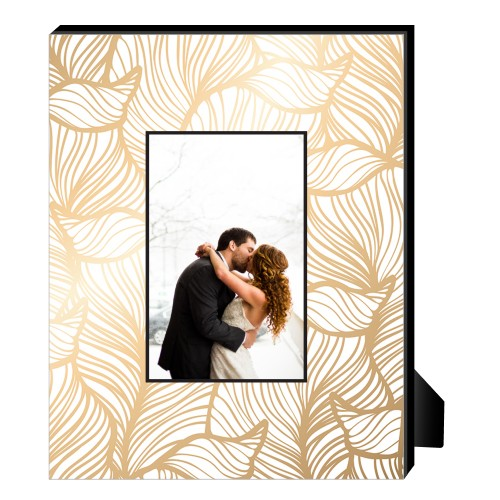 Elegant Patterns Personalized Frame, - No photo insert, 8 x 10 Personalized Frame, Multicolor