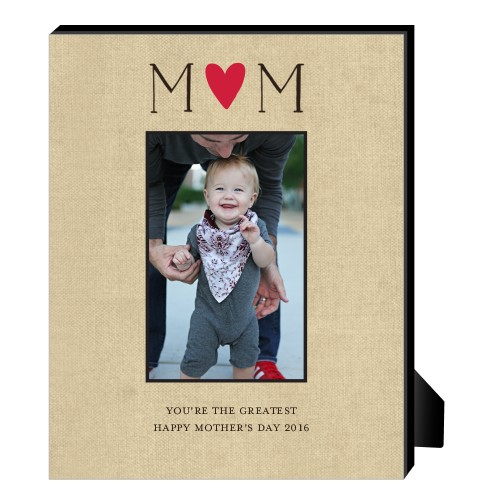 Personalized wood frames wood picture frames shutterfly mom is the greatest personalized frame negle Image collections