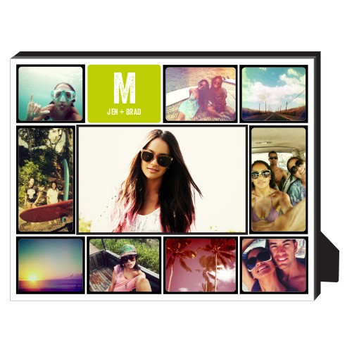 Pictogram Personalized Frame, - Photo insert, 8 x 10 Personalized Frame, Black