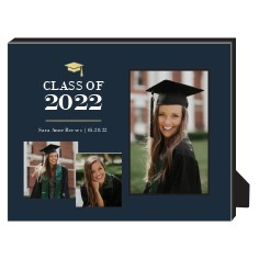 classic hat graduate personalized frame