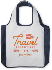 travel essentials reusable shopping bag