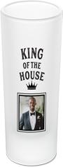 king shot caller shot glass
