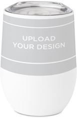 upload your own design stainless steel travel tumbler