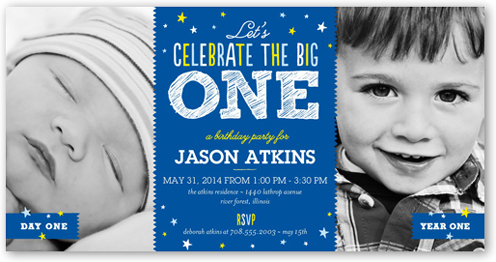 Big celebration boy 4x8 invitation card birthday invitations big celebration boy 4x8 invitation card birthday invitations shutterfly filmwisefo Images