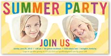 shades of fun summer invitation 4x8 flat