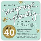 splendid surprise birthday invitation 5x5 flat