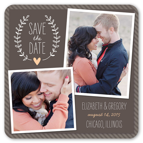 Loving Garland Save The Date