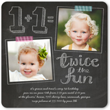 Twin Birthday Party Invitations Shutterfly