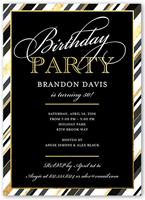fantastic party birthday invitation 5x7 flat