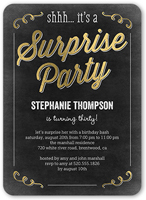 sweet surprise birthday invitation 5x7 flat