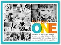 every amazing month boy birthday invitation 5x7 flat
