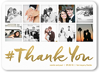 Thank You Card From 1 09 Custom Color Palette Colors Of This Design Can Be Customized