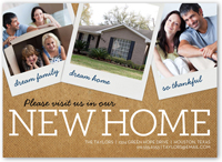 Image Gallery New Home Announcement Cards